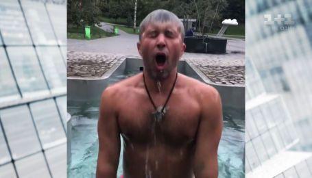 Відколи Сергій Бабкін любить занурюватися в холодну воду