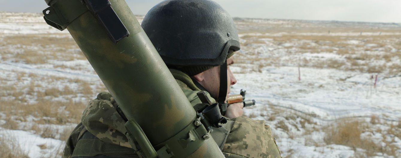 Ситуація на Донбасі. Під час підриву БМП загинув український військовий