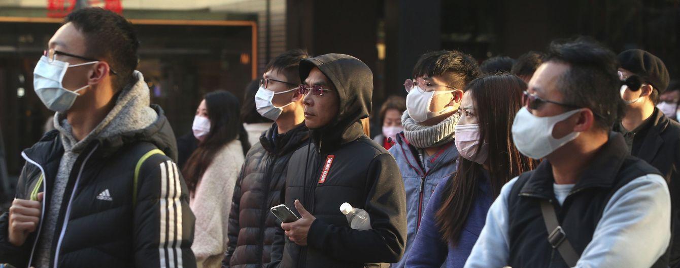 На Тайване зафиксировали первую смерть от коронавируса