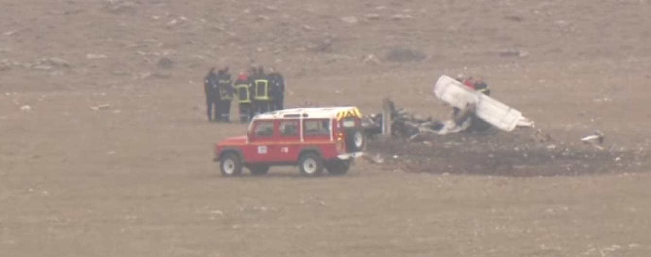 Во Франции разбился туристический самолет