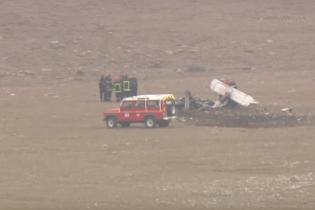 Во Франции разбился небольшой туристический самолет, есть погибшие