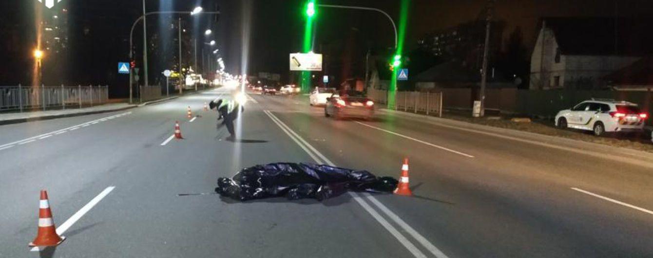 ГБР обнародовало видео смертельного наезда пьяного полицейского на пешеходов на переходе в Броварах