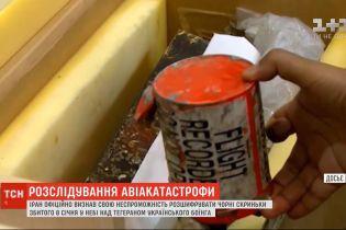 Тегеран нездатний розшифрувати чорні скриньки збитого українського літака – міністр Ірану