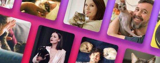День кота: хто з українських зірок має домашніх улюбленців