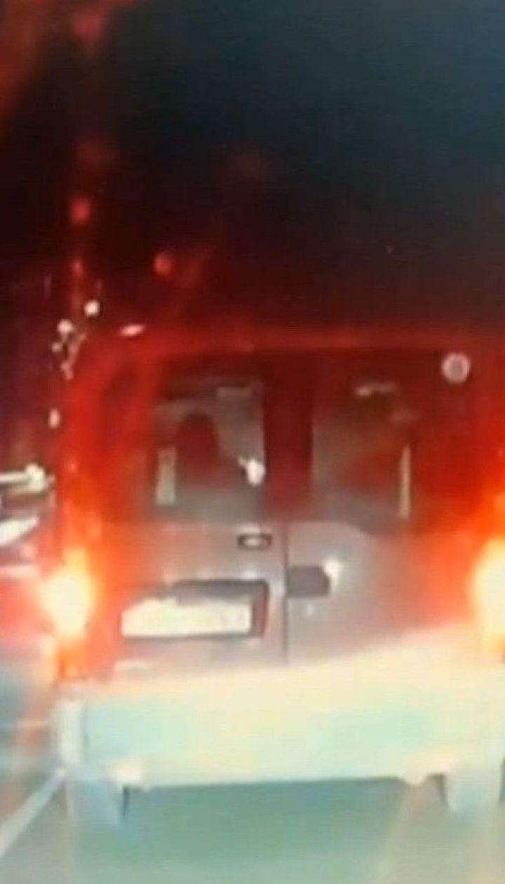 У Броварах п'яний коп на великій швидкості збив людей, а потім намагався втекти