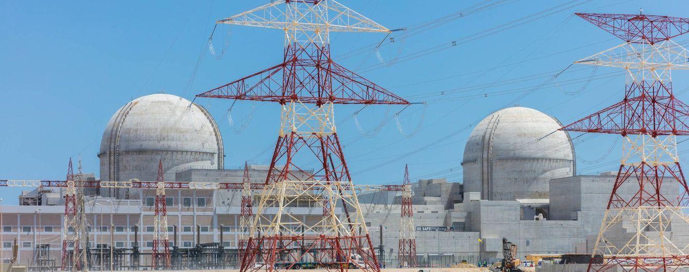 Первую в арабском мире атомную электростанцию запустят в ОАЭ