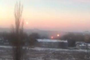 Жители оккупированных территорий сняли на видео обстрел украинских позиций