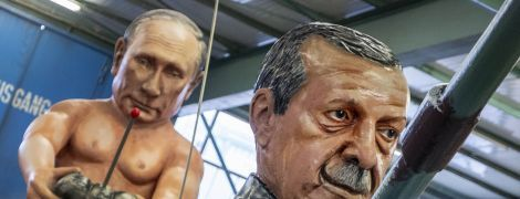 Путин с обнаженным торсом, Трамп в роли римского императора Нерона: Германия готовится к карнавалу