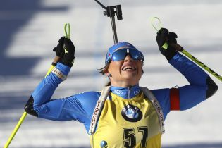 Итальянка Вирер второй год подряд завоевала Кубок мира по биатлону