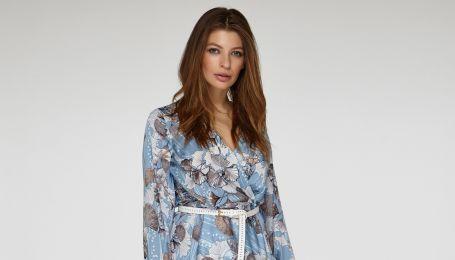 Цветочные платья и клетчатые пальто в весенней коллекции украинского бренда