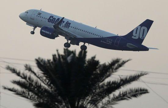 В Індії перед зльотом загорівся Airbus A320 з пасажирами. Очевидці зняли пожежу на відео