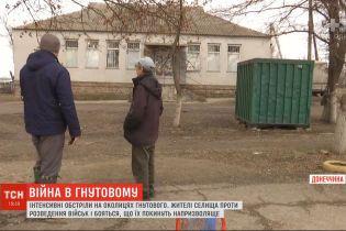 Жители Гнутово против разведения войск и боятся, что их бросят на произвол судьбы