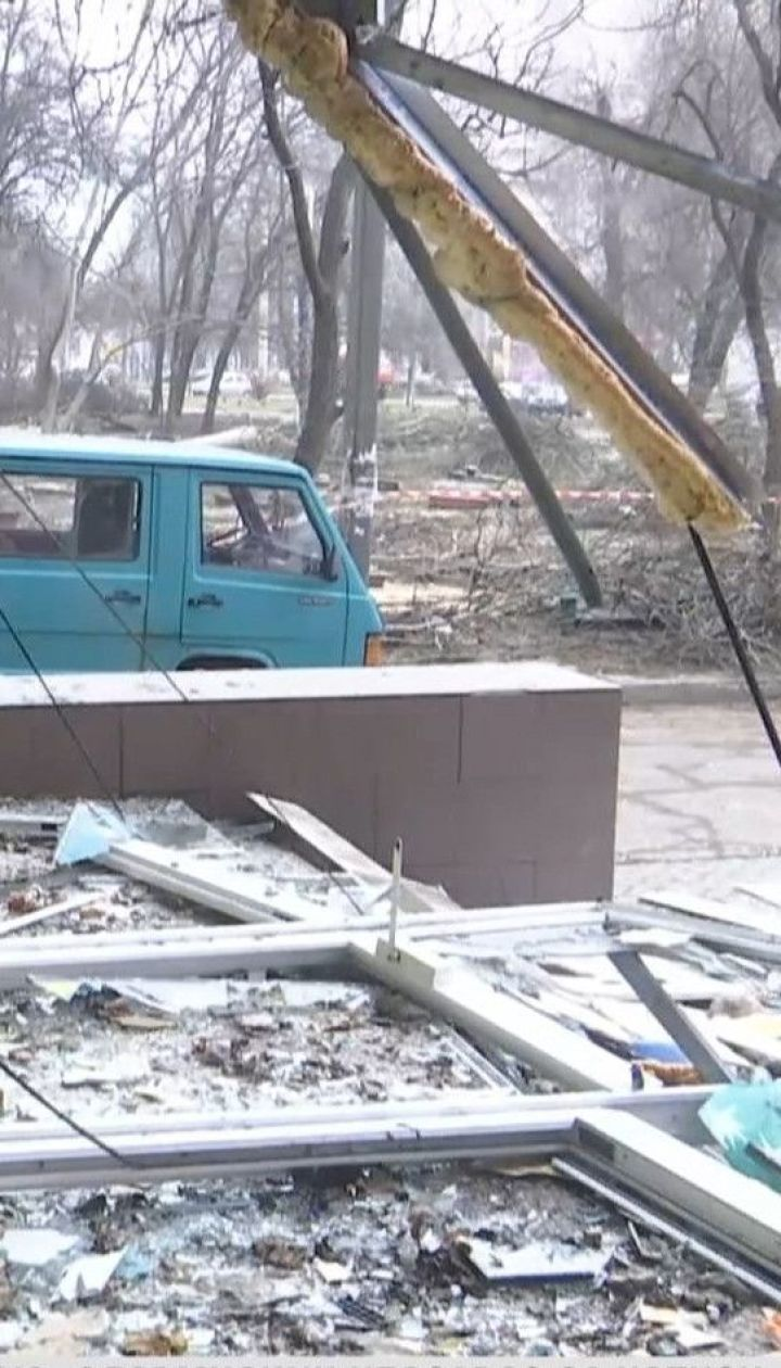 В Запорожье неизвестные взорвалии ограбили банкомат