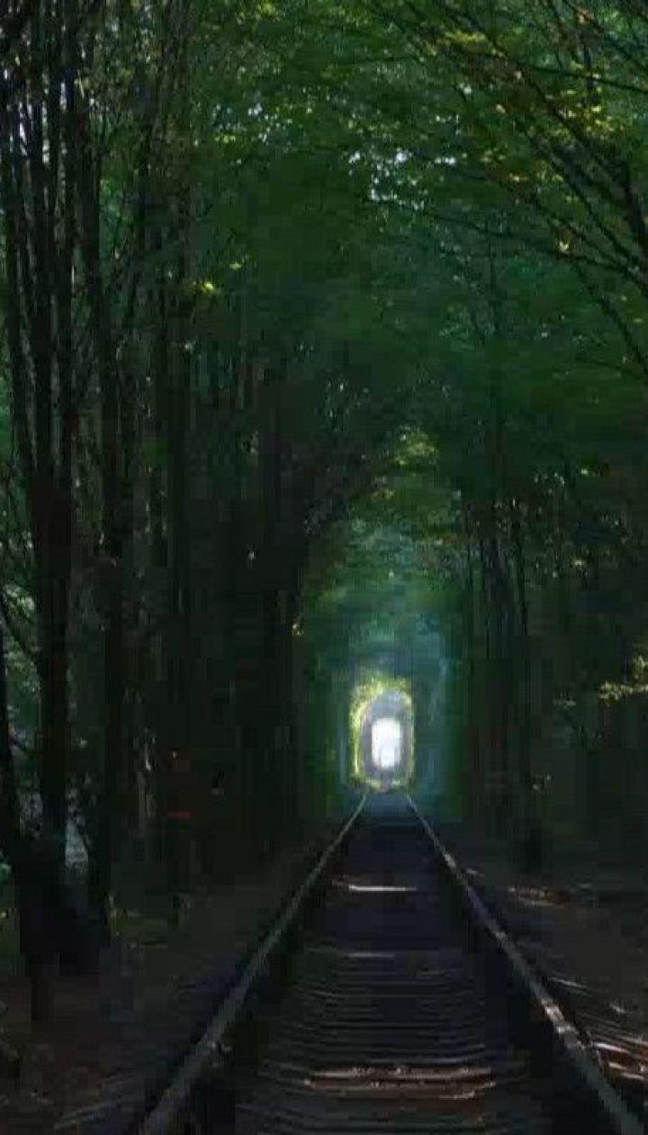 """Украинский """"туннель любви"""" признали одним из самых романтических и малоизвестных мест мира"""