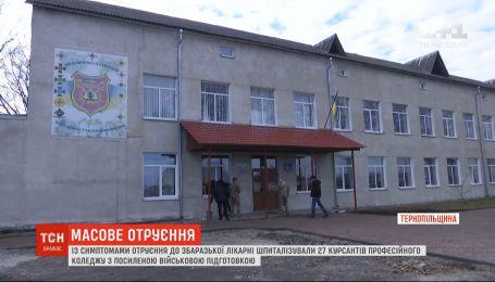 27 студентов попали на больничные койки с отравлением в Тернопольской области