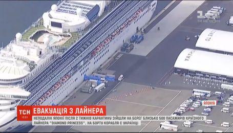 На круїзному лайнері Diamond Princess з українцями зняли двотижневий карантин