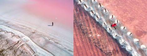 Фотограф с Украины показал снимки розового озера Херсонщины и попал в шортлист престижной премии