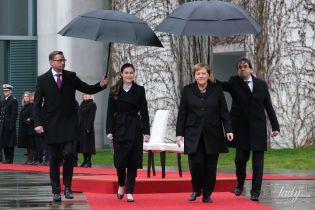 Дамы в черном: Ангела Меркель встретилась с новым премьер-министром Финляндии