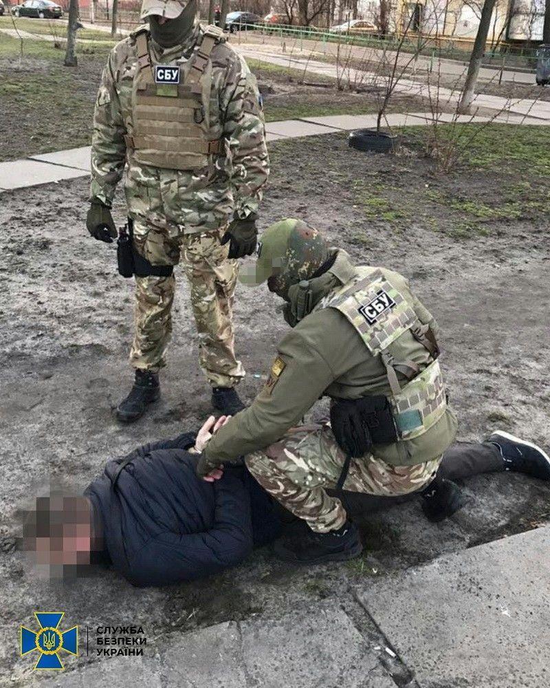 затримання агента МДБ ЛНР