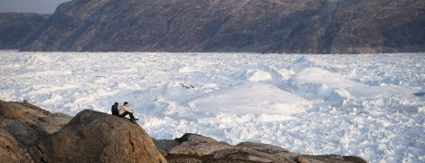 В Арктике растаяли две огромные ледяные шапки всего за пять лет