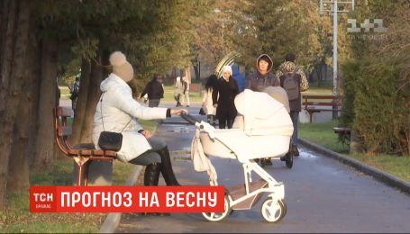 В последние зимние дни Украину будет заливать дождями и засыпать мокрым снегом