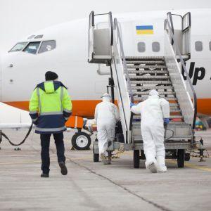 Эвакуация украинцев из Уханя, где бушует коронавирус. Текстовый онлайн