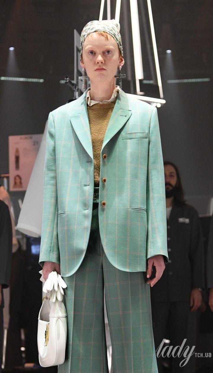 Показ коллекции Gucci сезона осень-зима 2020-2021