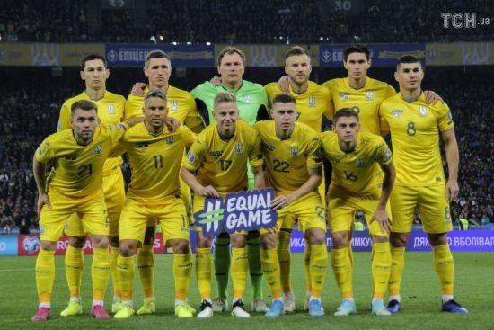Україна залишилася у топ-25 кращих футбольних збірних планети