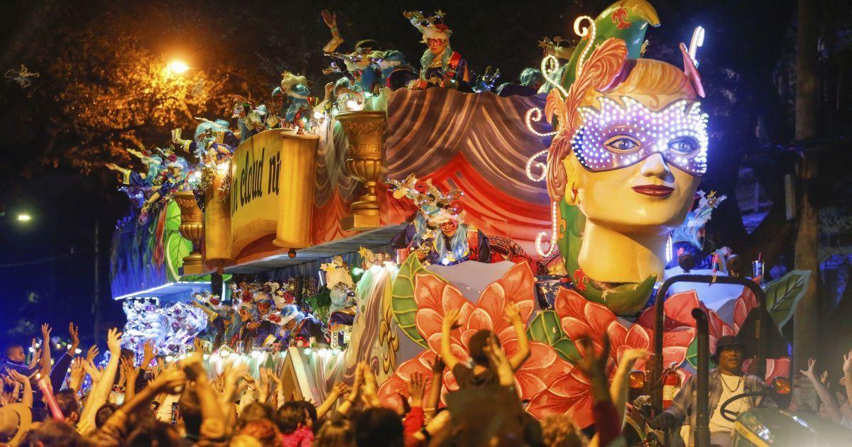 Чудернацькі персонажі і запальні танці копа: як минув яскравий парад Марді Гра в США