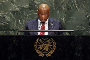Премьера африканской страны Лесото обвиняют в убийстве первой жены