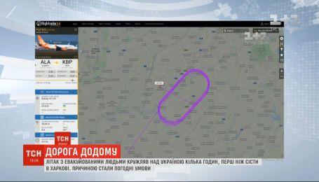 Евакуація українців з Уханя: чому літак був вимушений терміново залетіти у Київ
