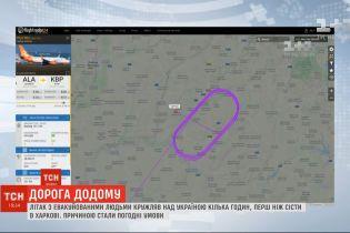 Эвакуация украинцев с Уханя: почему самолет был вынужден срочно залететь в Киев