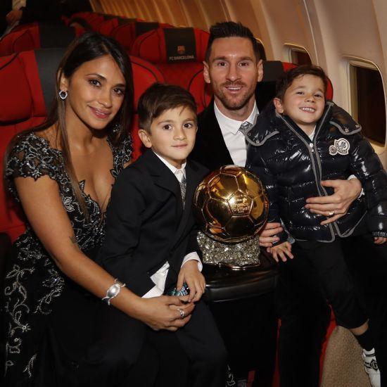 Мессі зізнався, яких футболістів обговорює зі своїм сином
