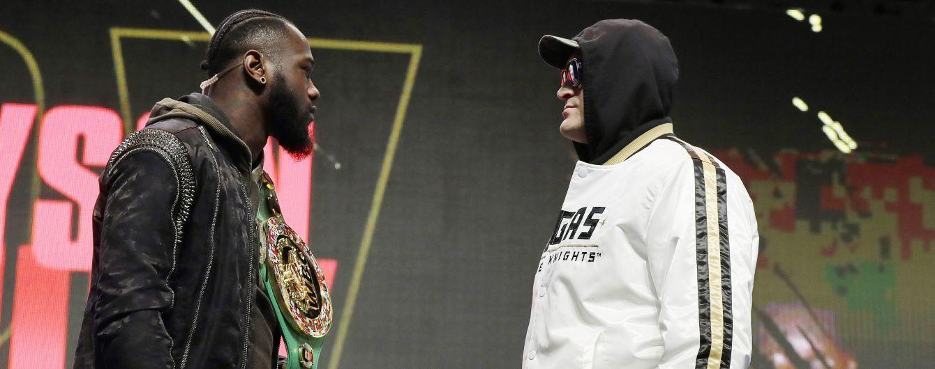 Вайлдер - Ф'юрі: букмекери оцінили шанси боксерів у реванші