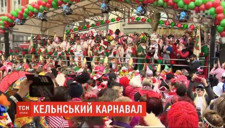 Один из самых массовых уличных карнавалов в Европе начался в немецком Кельне