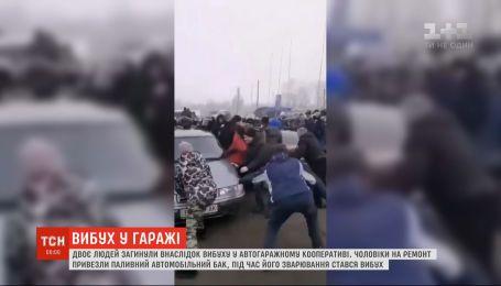 Взрыв произошел в автогаражном кооперативе Первомайска: два человека погибли