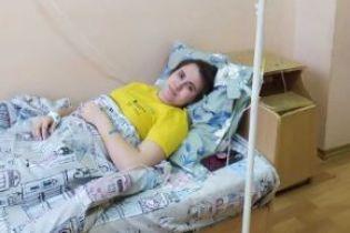 Ольге приходится бороться с опухолью мозга