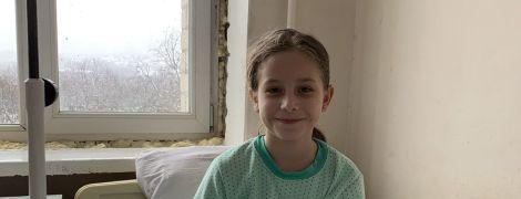 На лечение и операцию Даши нужны 50 тысяч гривен