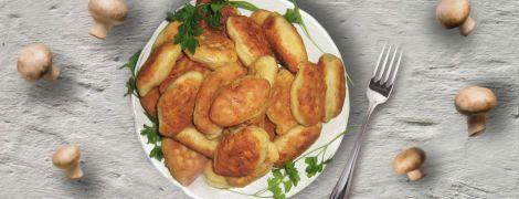 Картопляники с грибами