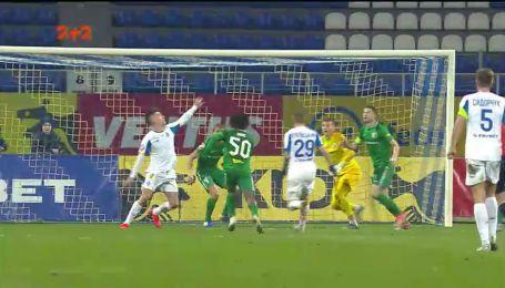 Динамо – Ворскла - 2:1. Видео гола Вербича
