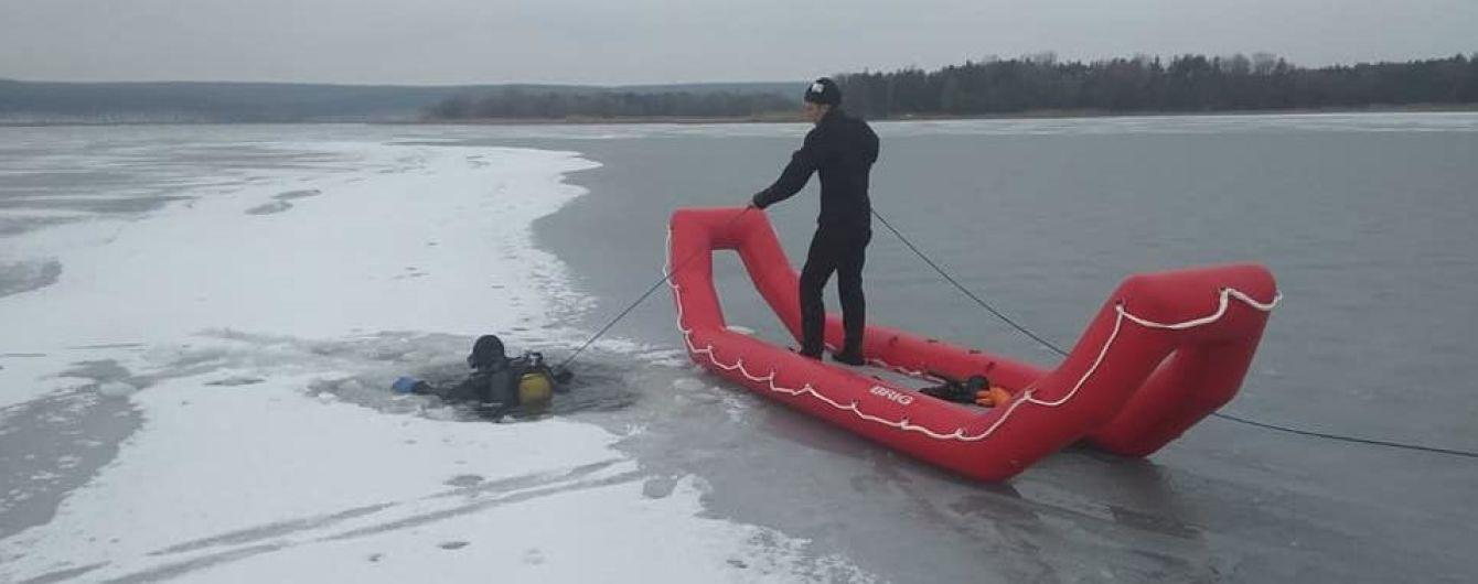 В Харьковской области провалились под лед и утонули двое рыбаков