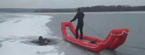 У Харківській області провалилися під лід і загинули двоє рибалок
