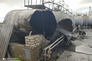 В Херсонской области прогремел взрыв на АЗС, есть пострадавшие