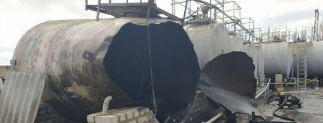 У Херсонській області пролунав вибух на АЗС, є постраждалі
