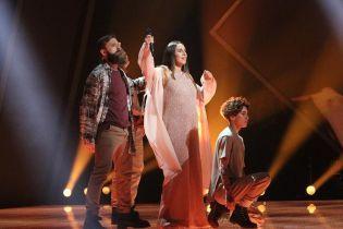 """Вдруге вагітна Джамала виступила на сцені нацвідбору """"Євробачення-2020"""""""
