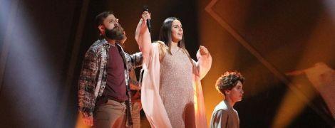 """Во второй раз беременна Джамала выступила на сцене нацотбора """"Евровидения-2020"""""""