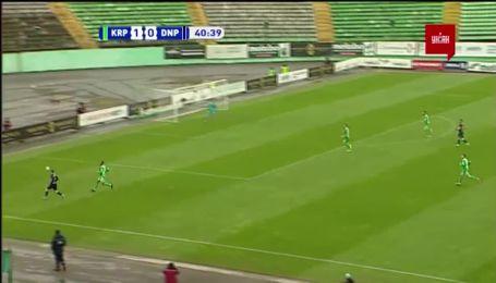 Карпаты - Днепр-1 - 1:1. Видео гола Супряги