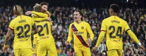 """Гравців """"Барселони"""" перевірять на коронавірус перед матчем Ліги чемпіонів"""