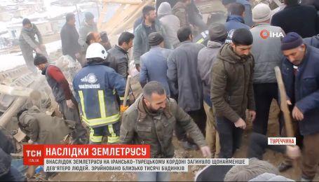 В результате землетрясения на ирано-турецкой границе погибли по меньшей мере 9 человек