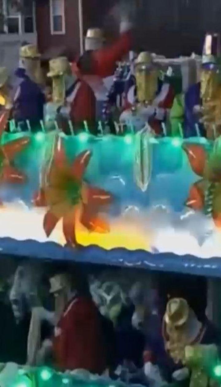 Во время фестиваля Марди Гра в Новом Орлеане погиб человек